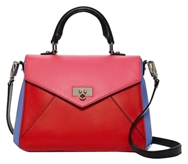 KATE SPADE    TERRACE PARK LITTLE NADINE HANDBAG RED BLUE BLACK PINK NWOT $398
