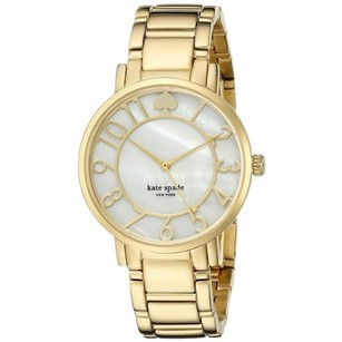 Kate Spade Women's Gramercy Analog Display Japanese Quartz Gold Watch 1YRU0780,