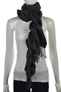 Kenneth Cole Kenneth Cole Womens Charcoal Knit Scarf One Casual