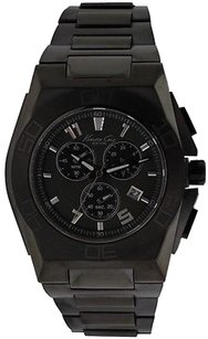 Kenneth Cole Kenneth Cole York Black Ip Chronograph Mens Watch Kc9300