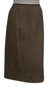 Kenneth Cole Straight Pencil Skirt Browns