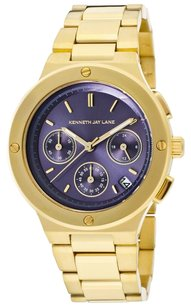 Kenneth Jay Lane Lavender and Gold Kenneth Jay Lane Watch