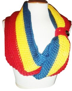 Khosi Clothing & Accessories Button Crochet Infinity Scarf