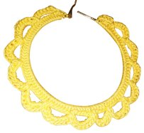 Khosi Clothing & Accessories Crochet Loop Hoop Earrings