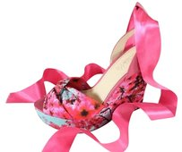 Kirna Zabete for Nine West Floral New Ems Pumps