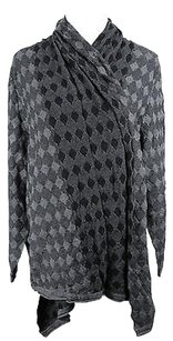 Krizia Argyle Womens Sweater