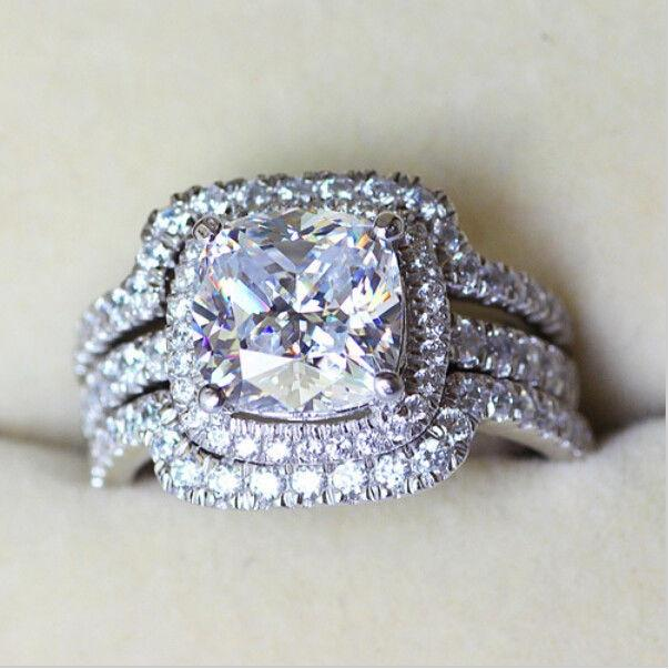 4 5 6 7 8 9 4 Carat Band Set 3 Piece Cushion Cut Pt950. Diana Engagement Rings. Daisy Flower Engagement Rings. Tv Show Engagement Rings. Johan Wedding Rings. Mens Victorian Rings. Senior Rings. Round Rings. Exotic Engagement Rings
