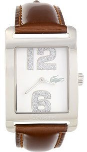 Lacoste Lacoste Andorra Patent Leather Ladies Watch - Brown