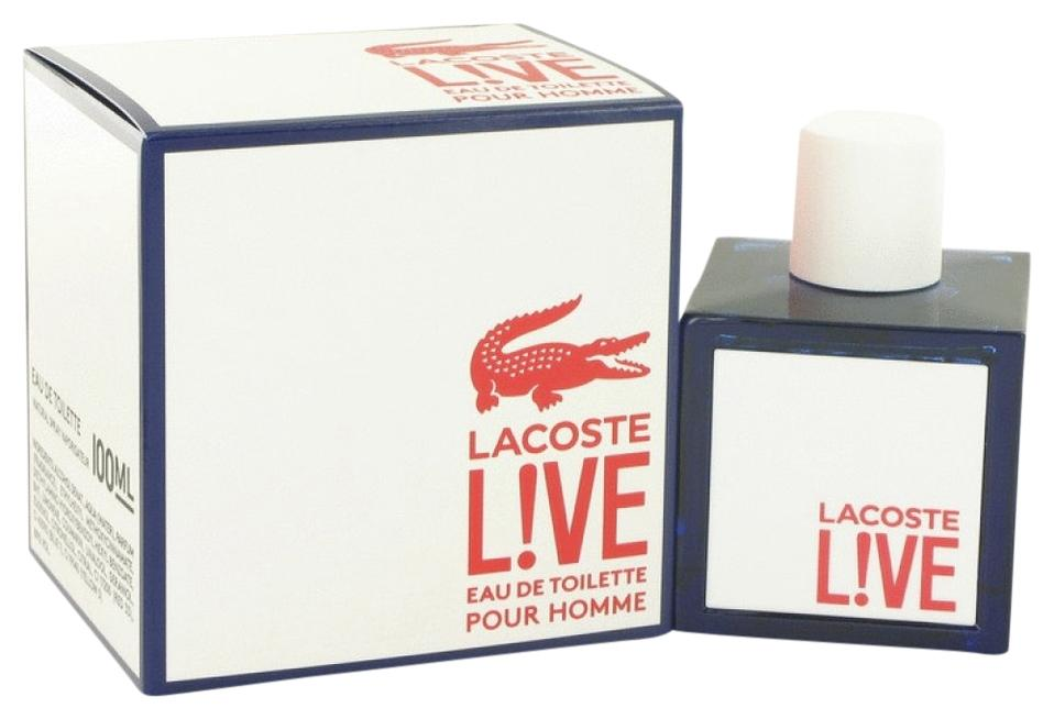 lacoste live by eau de toilette spray 3 4 oz 14 retail