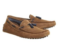 Lacoste Mocassin Mens Driving Driving Mens Loafers Tan Athletic