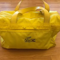 Lacoste Satchel in Yellow