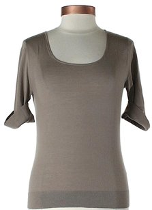 Lafayette 148 New York Wool Scoop Neck Sweater