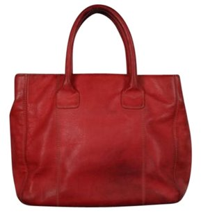 LAI Womens Satchel in Red