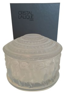 Lalique Lalique France Enfants Crystal Box Vintage