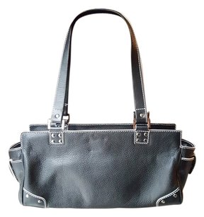 Lambertson Truex Italian Leather Shoulder Bag