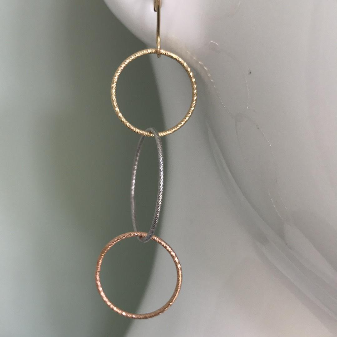 Lana Jewelry Various Gold Triple Hoop Earrings Tradesy