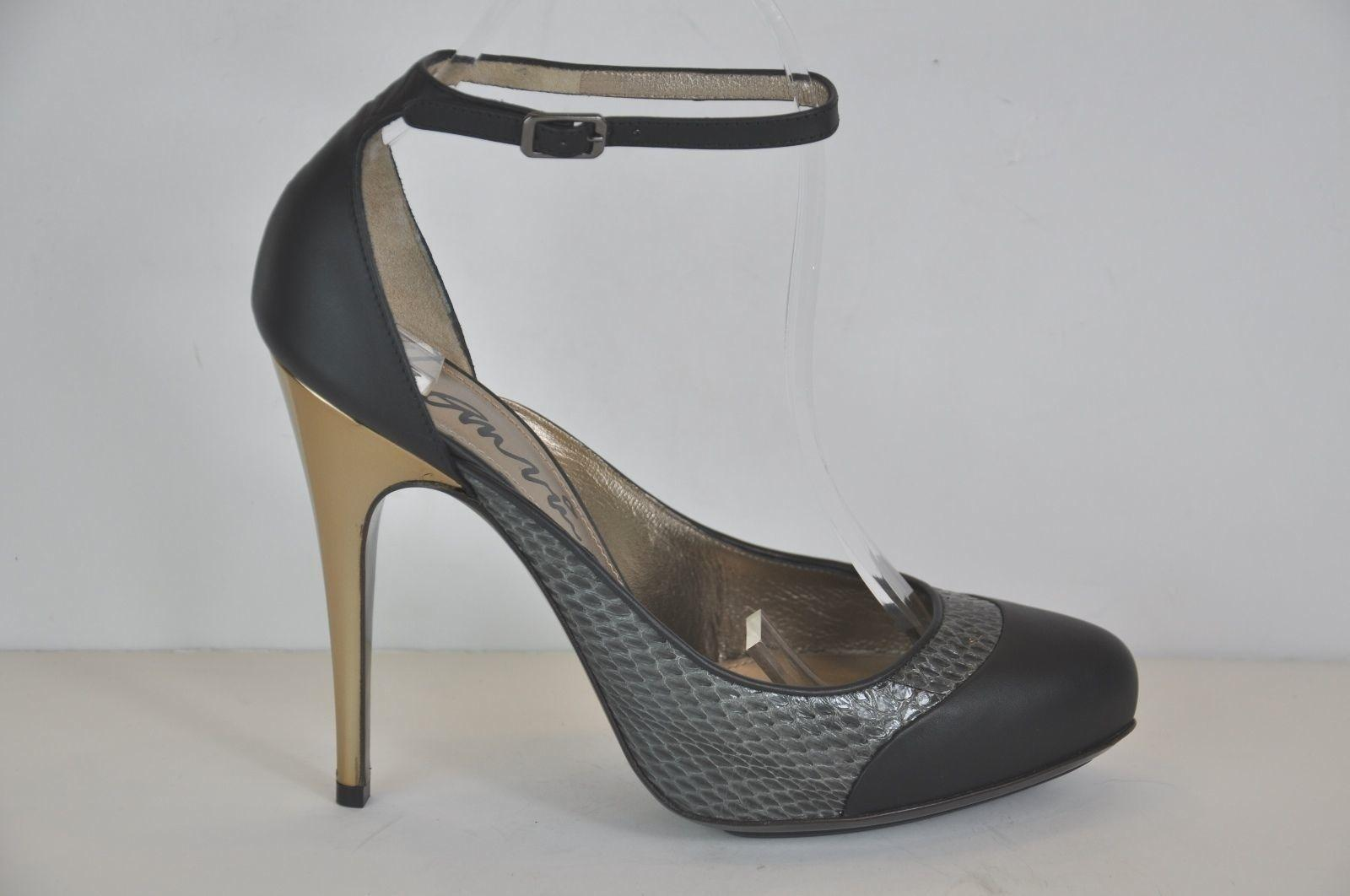 clearance get authentic Lanvin Python Round-Toe Pumps free shipping good selling sale purchase buy cheap cost best sale aFAN5fYzxU