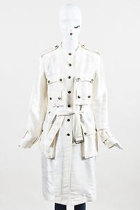 Lanvin Silk Blend Trench Coat