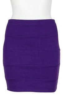 LaROK La Rok Womens Skirt Purple
