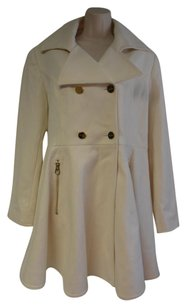 Laundry by Shelli Segal New Without Tag Fit And Flare Double Breasted Military Pea Coat
