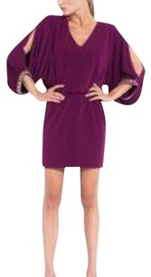 Laundry by Shelli Segal Sexy Cut-out Beaded Dress
