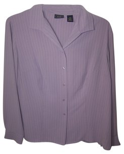 Laura Scott Woman Button Down Shirt Light purple