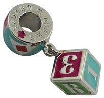 Lauren G Adams Lauren G Adams Rhodium Enamel Toy Block Charm Bead Fits All Brands