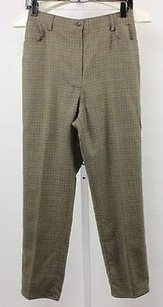 Lauren Ralph Lauren Womens Petites Plaid Dress Wool Trous Pants