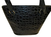 Laurenem Reptile Monogram Vintage Shoulder Bag
