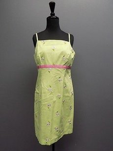 Lilly Pulitzer short dress Green Pink White on Tradesy