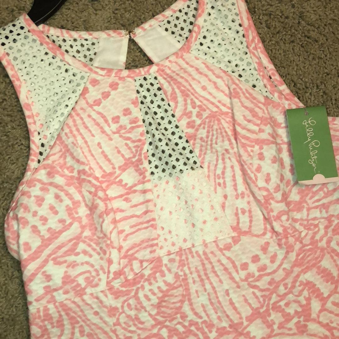 Lilly Pulitzer Dress. 123