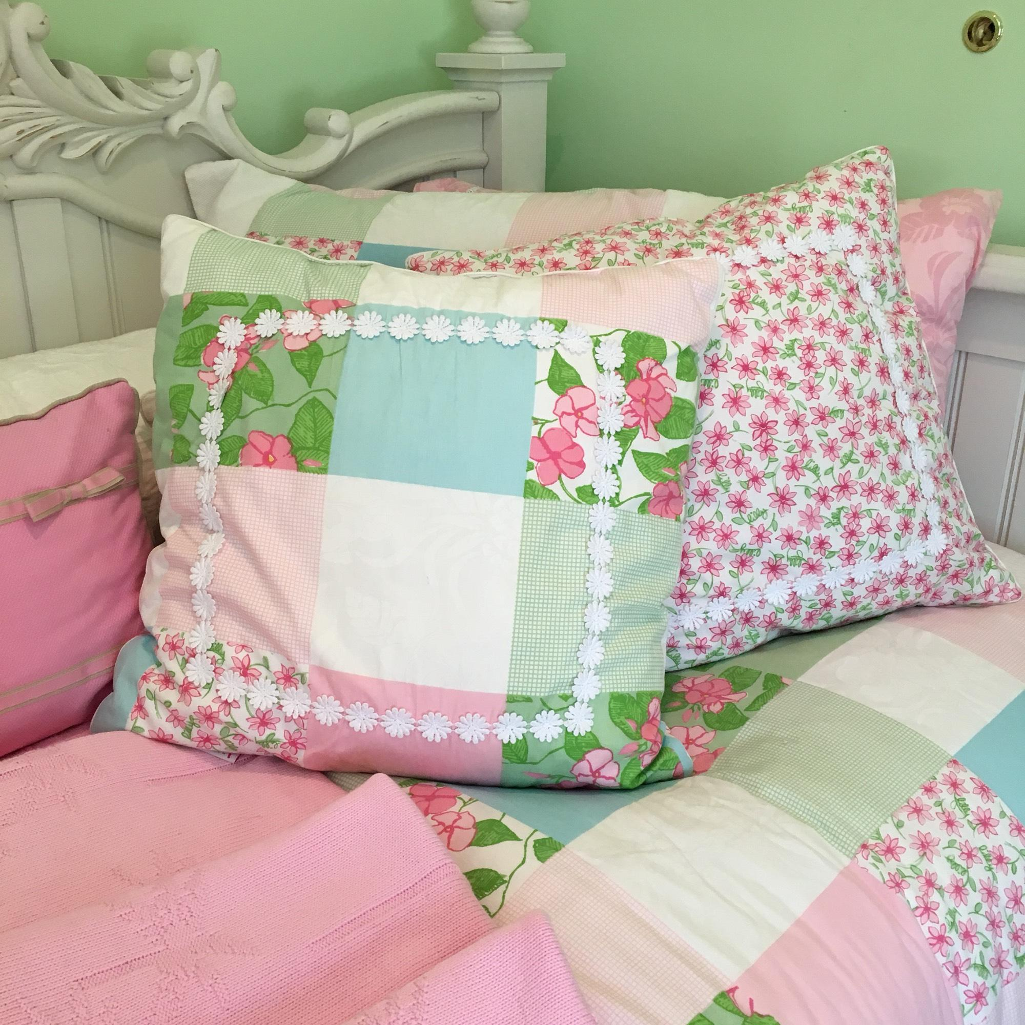 lilly pulitzer rare lilly pulitzer patchwork bedding set