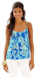 Lilly Pulitzer Top Blue Crush Bamboom