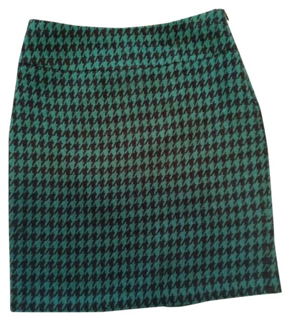 The Limited Skirt Black and green