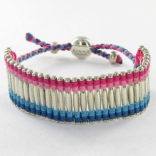 Links of London Links Of London 5010.2102 Bracelet 22mm Friendship Pink Blue 925