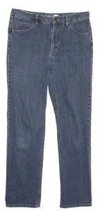 Liz Claiborne Straight Leg Jeans-Medium Wash