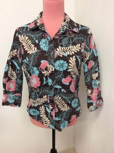 Liz Claiborne First Issue Top Multi-Color