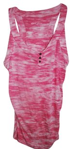 Liz Lange Maternity for Target Racerback Patterned Pink Tank Top