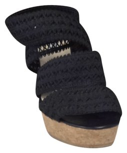 L.K. Bennett Black Wedges