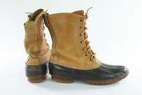 L.L.Bean Vintage Ll Bean Duck Brown Boots