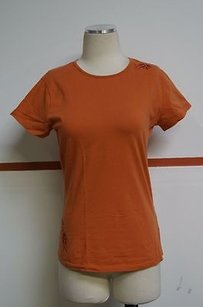 Lolë Lole Burnt Orange Organic T Shirt Oranges