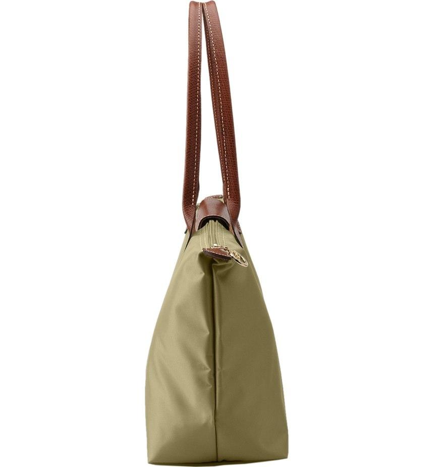 Longchamp Nylon Le Pliage Shoulder Bag .