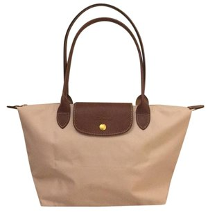 Longchamp Tote in Ivory