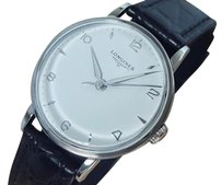 Longines Longines 1960s Vintage Manual Swiss Made Mens Stainless Steel Watch La31