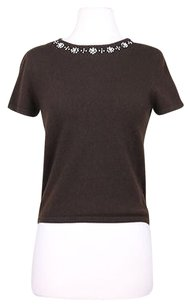 Lord & Taylor Amp Two Ply Cashmere Womens Crew Neck Med Sweater