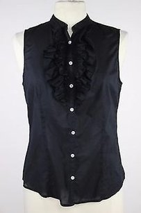 Lord & Taylor Womens Top Black