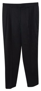 Loro Piana Charcoal Wool Dress Pants