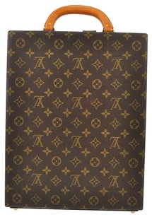Louis Vuitton Attache Case Brown Travel Bag