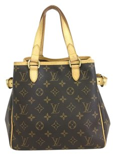 Louis Vuitton Ballerina Batignolles Monogram Canvas Tote in brown