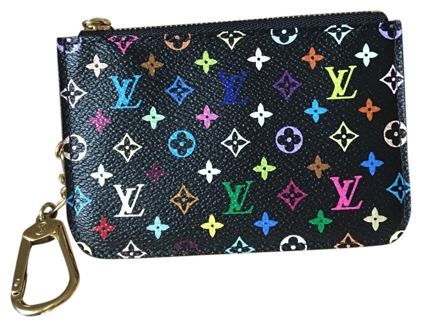 Louis Vuitton Black Multicolor Cles